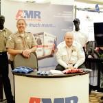happy exhibitors