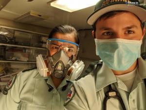 LA - Acadian Ambulance - medic duo