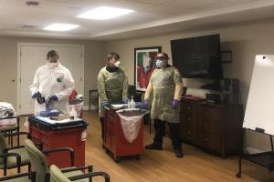 MA - Action Ambulance testing prep cropepd